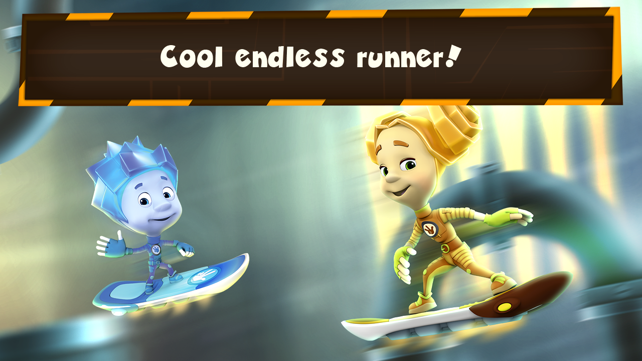 Fixiki: endless running games- screenshot
