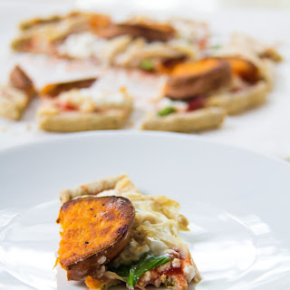Sweet Potato & Cottage Cheese Pizza for One Recipe