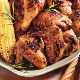 Dijon and Tarragon Grilled Chicken.