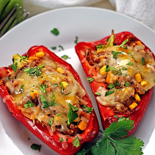 Stuffed Bell Peppers Without Tomato Sauce Recipes.