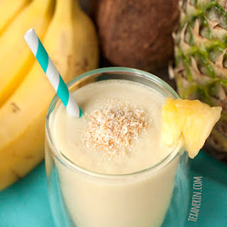Healthy Piña Colada Smoothie.