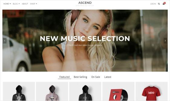 Ascend Free WordPress Theme