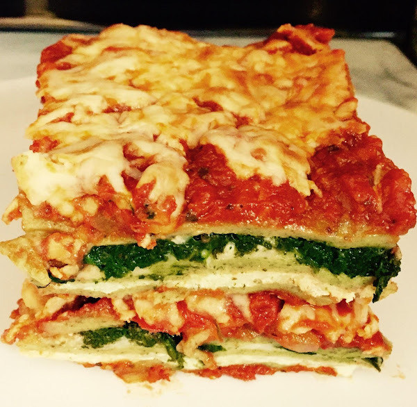 Cheesy Spinach Vegetable Lasagna By Noreen Recipe