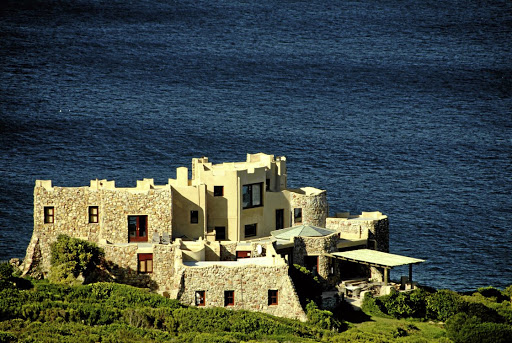 The 66ha Vygekraal Estate near the Robberg Nature Reserve close to Plettenberg Bay comes complete with its own stone castle. It is perched high on a cliff top and has majestic ocean views. Picture: SUPPLIED