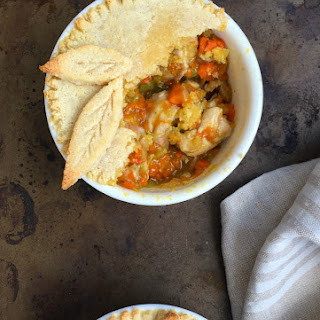 Paleo Pot Pie for Two