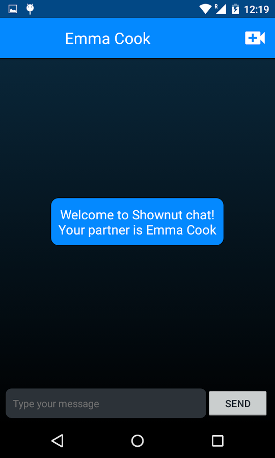Shownut- screenshot