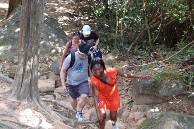 Hiking in Kbal Spean