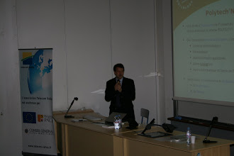 Photo: Intro par le directeur de Polytech