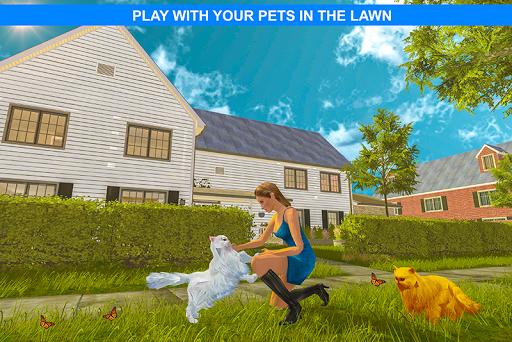 Virtual Girlfriend: Real Life love Story Sim apktram screenshots 4