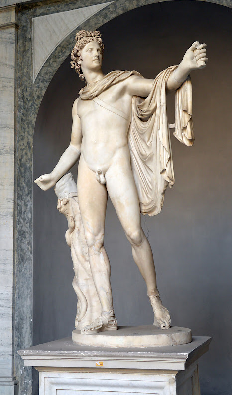 The Apollo Belvedere exemplifies the classical elements Renaissance artists sought to imitate.