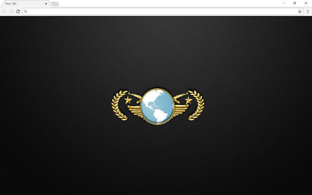 CS GO Counter Strike New Tab Page