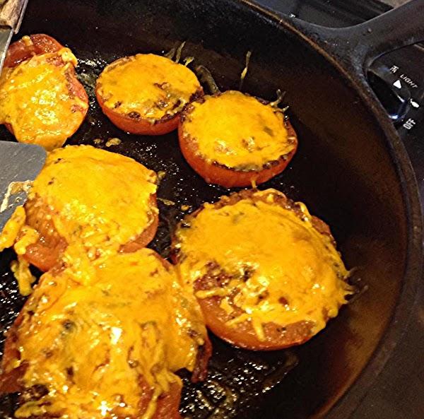 Skillet Grilled Brunch Tomatoes Recipe