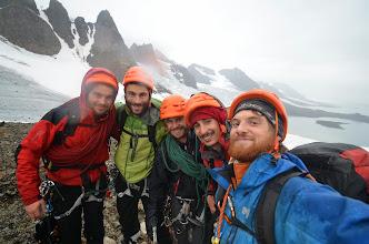 Photo: Photos de groupe au retour du Monacofjellet et de l'Arête Rama il est... 4h du matin !