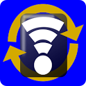 Wi-Fi sync Screen icon