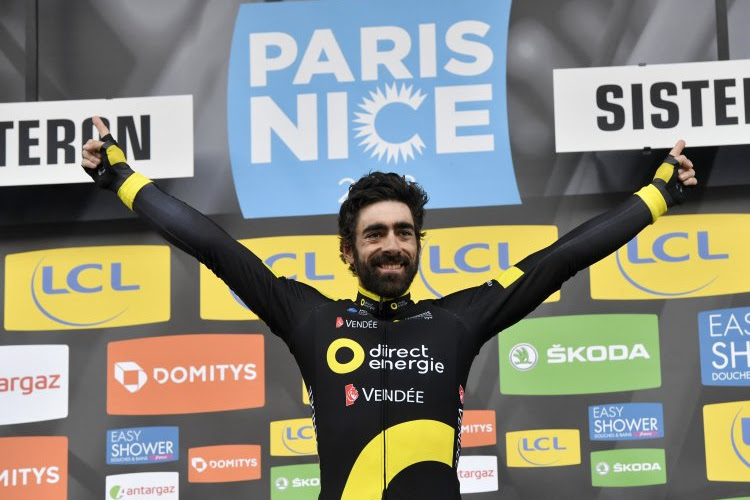 """Lepe Fransman die zegeviert in Parijs-Nice goudeerlijk: """"Ik heb met de kl*ten gerammeld van mijn medevluchter"""""""