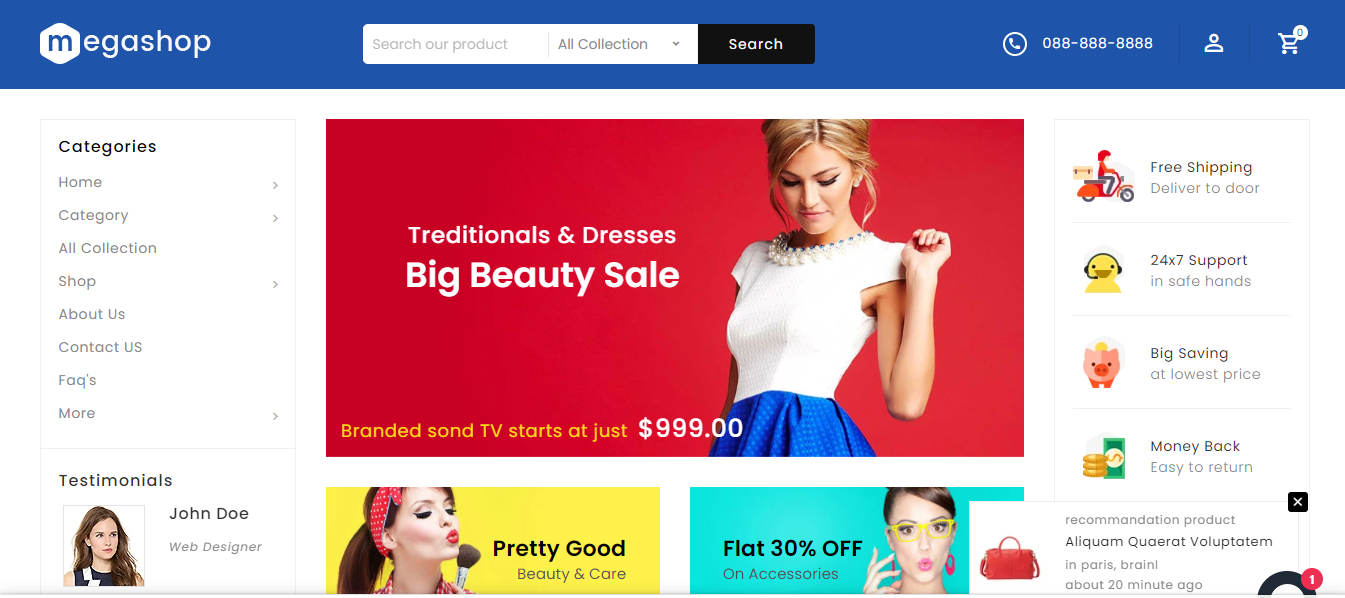 Mega Shop - Crafts Shopify Theme