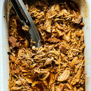 Slow Cooker Cherry Cola Pulled Pork.