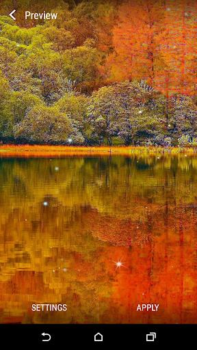 秋水彩画动态壁纸
