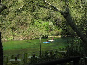 Photo: It also lies on the River Sorgue ...