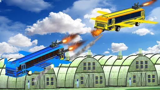 Flying Bus Gunship Super Shooting Battle for PC