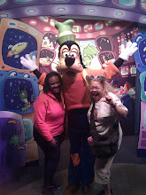 Photo: Hanging with Goofy at Epcot
