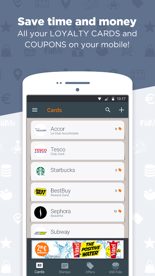 FidMe Loyalty Cards & Deals at Grocery Supermarket- screenshot