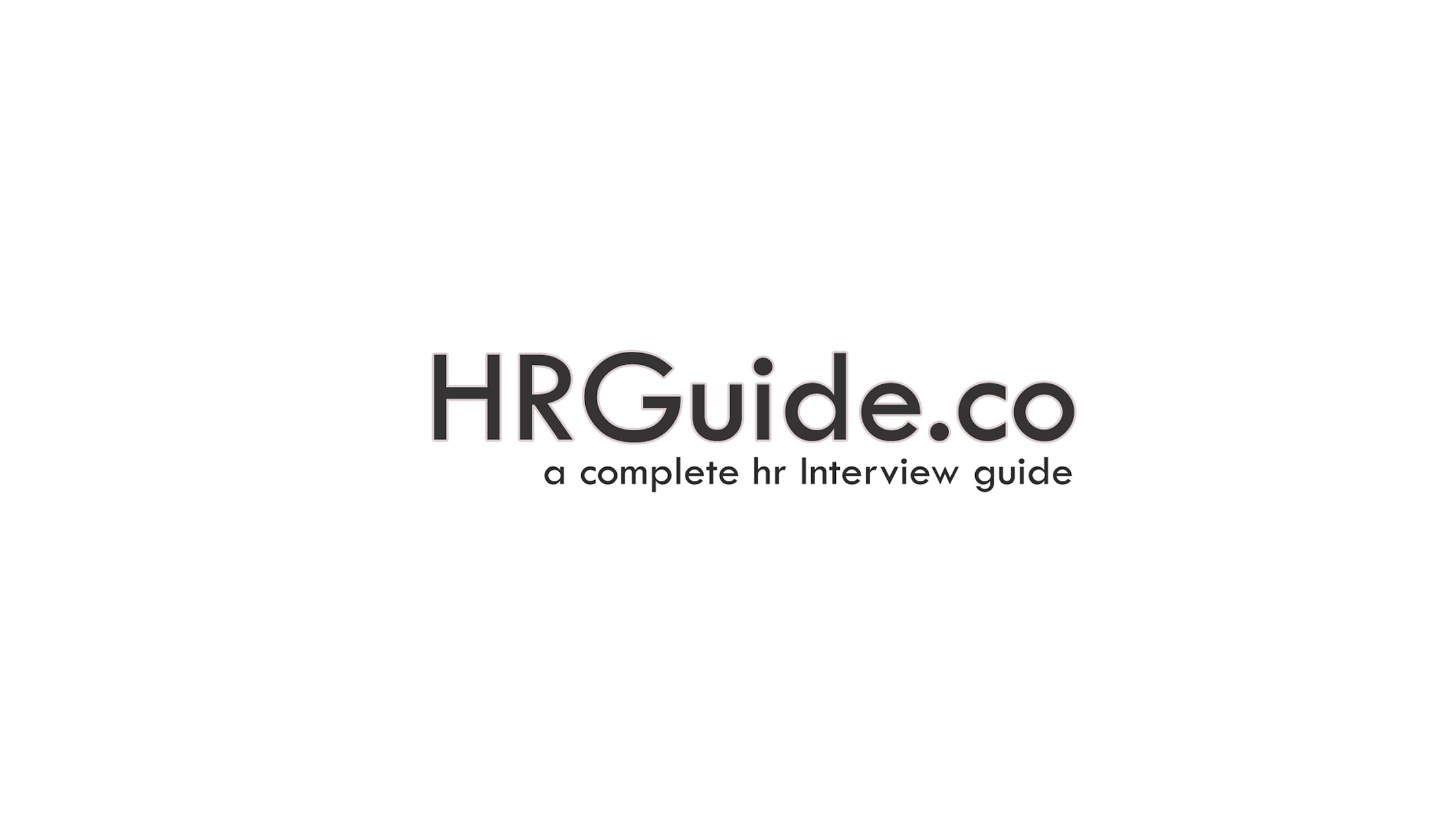 HR Interview Guide