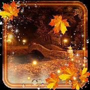 Autumn Twinkle Lights live wallpaper