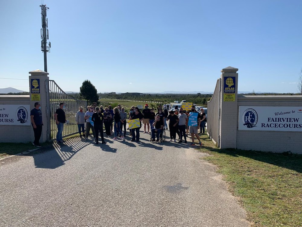 Police disperse peaceful protest at Fairview Racecourse - HeraldLIVE