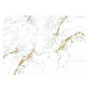 Folie autoadeziva imitatie marmura cu fir auriu 60 x 200 cm