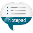 Notepad with speech input