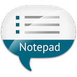 Notepad with voice recognition Icon