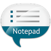 Notepad with voice input