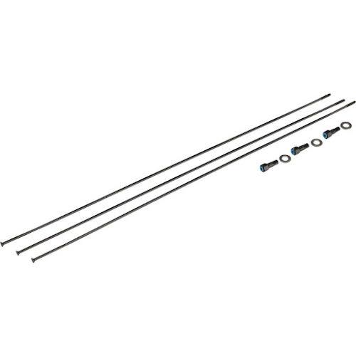 "SRAM Spokes/Nipples/Washers 3-pack 280mm CX-Sprint Straight-Pull External Black, Roam 60, 27.5"""