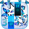 Blue Butterfly Piano Tiles  - Magic Tiles 2020 icon