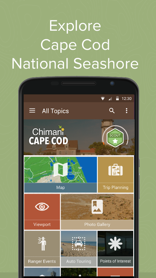 Cape Cod Ntl Seashore: Chimani- screenshot