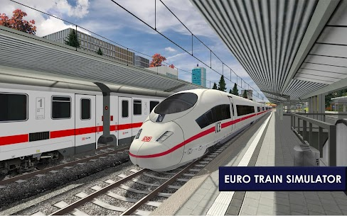 Euro Train Simulator 2 1.0.5.6 Apk Mod (Unlocked) Download 2018 7