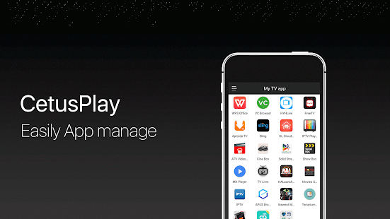 App CetusPlay - TV Remote Server Receiver APK for Windows Phone