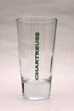 Photo: Modèle 'Highball glass'. Destiné aux cocktails, notamment le Chartreus'ito.