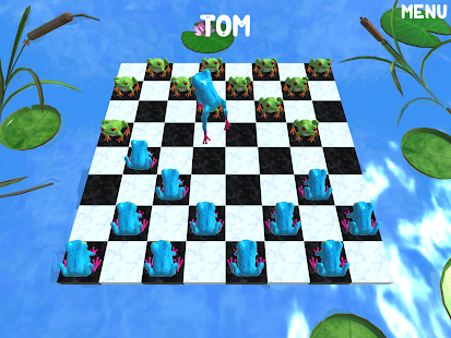 Frog Checkers- screenshot thumbnail