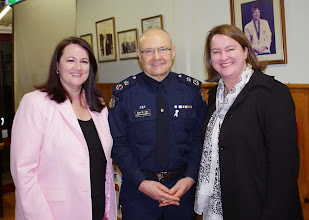 Photo: Family Violence Forum with Dee Ryall and Chief Commisioner Ken Lay