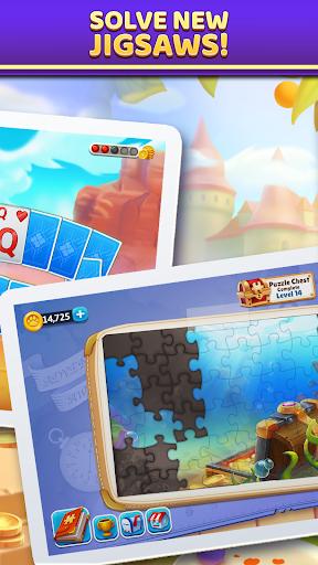 Puzzle Solitaire - Tripeaks Escape with Friends 9.0.0 screenshots 2