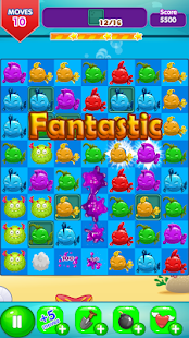 Fancy Fish Match 3- screenshot thumbnail