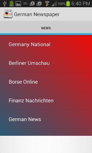 Germany Newspaper