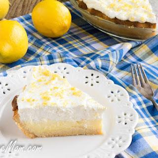 Sugar-Free Lemon Cream Pie