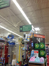 Photo: Then we head over to the air freshener section of the store.