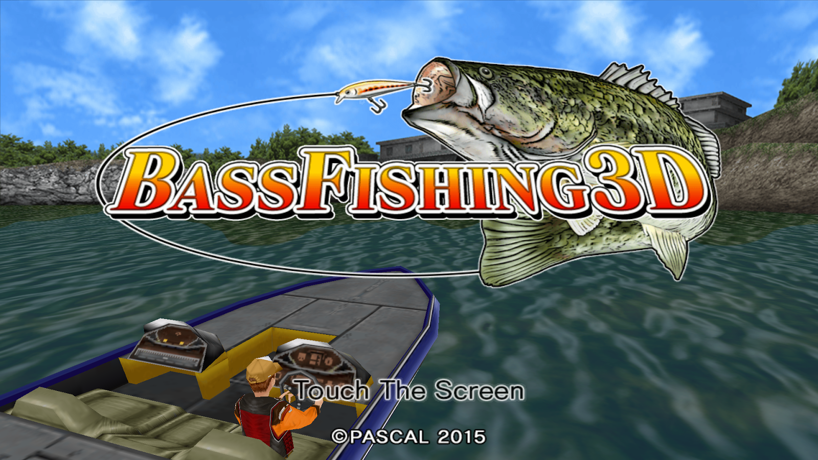 Bass fishing 3d free android apps on google play for Bass pro shop fishing games