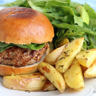 Juicy Burgers (with a surprise ingredient!).