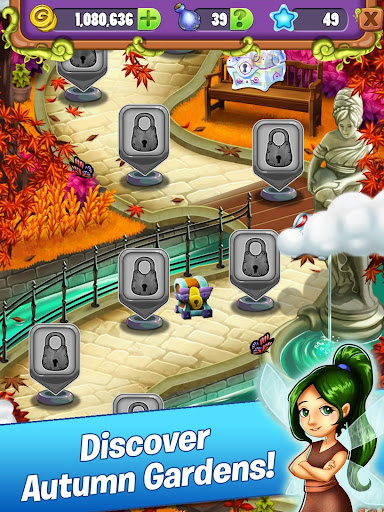 Mahjong Garden Four Seasons - Free Tile Game screenshots 14