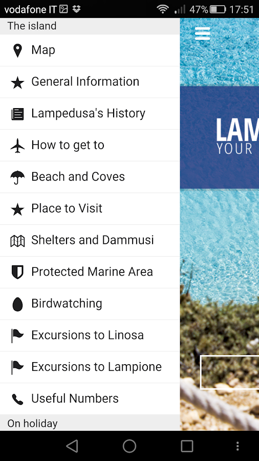 Lampedusa Today App- screenshot